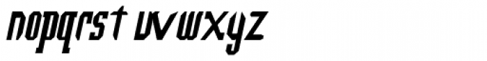 Southern Colonialist Italic Font LOWERCASE