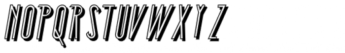 Southern Fight Shadow Font UPPERCASE