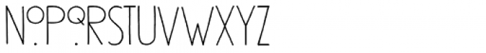 Southside Fizz Regular Font LOWERCASE