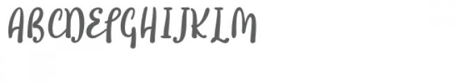 Soullove Font UPPERCASE