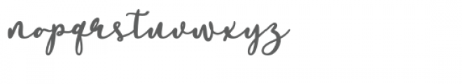 Soullove Font LOWERCASE