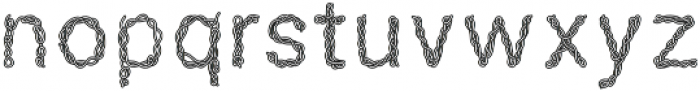 SPAGHETTI-SANS Regular otf (400) Font LOWERCASE