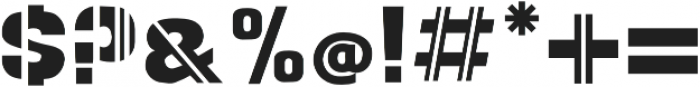 SPORT Regular otf (400) Font OTHER CHARS