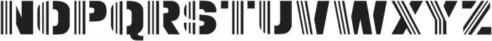 SPORT Regular otf (400) Font UPPERCASE