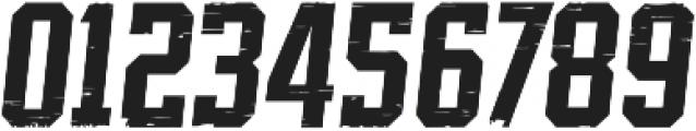 SPORTS HEADLINE BOOK DISTRESSED ttf (400) Font OTHER CHARS