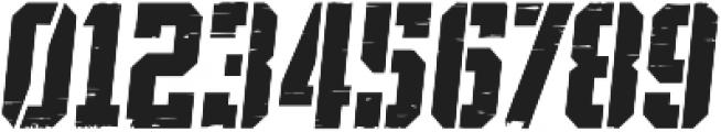 SPORTS HEADLINE DIST STENCIL ttf (400) Font OTHER CHARS