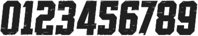SPORTS HEADLINE DISTRESSED ttf (400) Font OTHER CHARS