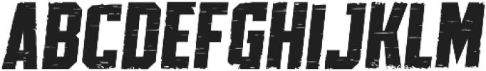 SPORTS HEADLINE DISTRESSED ttf (400) Font UPPERCASE