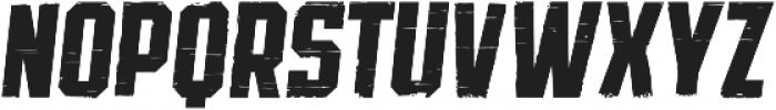 SPORTS HEADLINE DISTRESSED ttf (400) Font LOWERCASE
