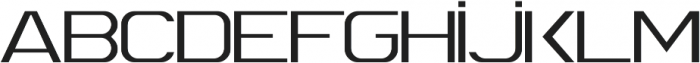 Spac3  ttf (400) Font UPPERCASE