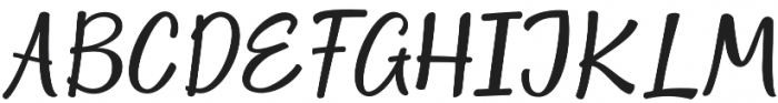 Space Craft otf (400) Font UPPERCASE