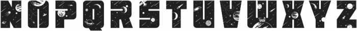 Space Font Regular otf (400) Font UPPERCASE