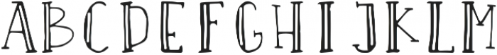 Space Out 1 ttf (400) Font UPPERCASE