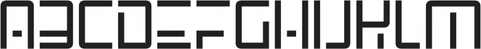 SpaceAge otf (400) Font UPPERCASE