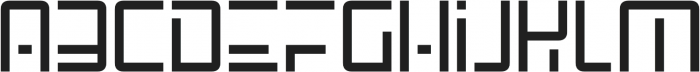 SpaceAge otf (400) Font LOWERCASE