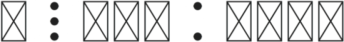 SpaceFont Regular otf (400) Font OTHER CHARS