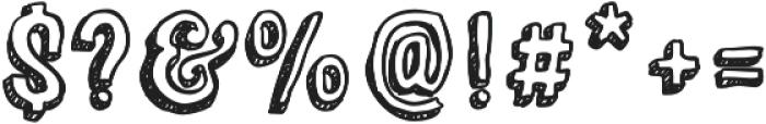 Sparhawk Bold otf (700) Font OTHER CHARS