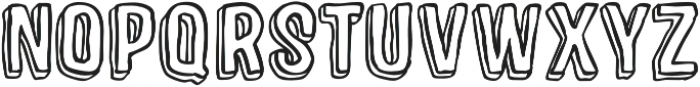 Sparhawk otf (400) Font UPPERCASE