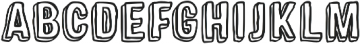 Sparhawk otf (400) Font LOWERCASE
