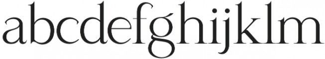 Sparkling Moscow otf (400) Font LOWERCASE