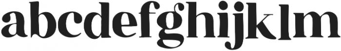 Speakeasy Regular otf (400) Font LOWERCASE