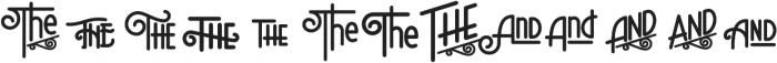 Speakeasy otf (400) Font UPPERCASE