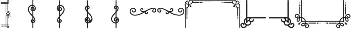 Speakeasy otf (400) Font LOWERCASE