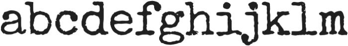 Special Elite Pro Regular otf (400) Font LOWERCASE