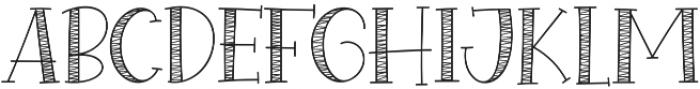 Special Winter Sans otf (400) Font UPPERCASE