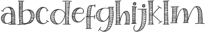 Special Winter Sans otf (400) Font LOWERCASE