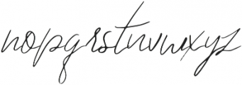 SpecialBlend otf (400) Font LOWERCASE