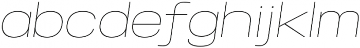 Specify Expanded otf (100) Font LOWERCASE
