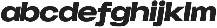 Specify Expanded otf (900) Font LOWERCASE