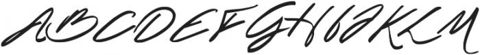 Spectacular Script otf (400) Font UPPERCASE