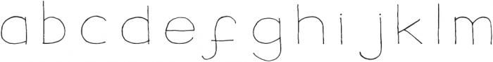 SpectraFontSansWide otf (400) Font LOWERCASE