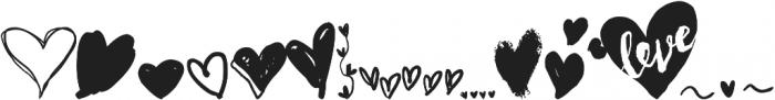 Speechless Heart otf (400) Font UPPERCASE