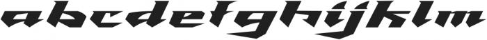 Speed Racer ttf (400) Font LOWERCASE