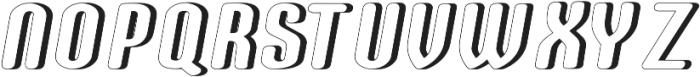 Speedball Hollow otf (400) Font UPPERCASE
