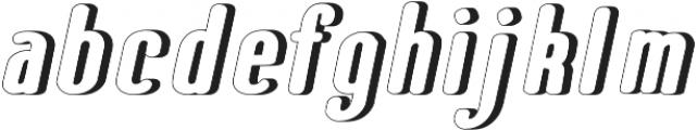 Speedball Hollow otf (400) Font LOWERCASE