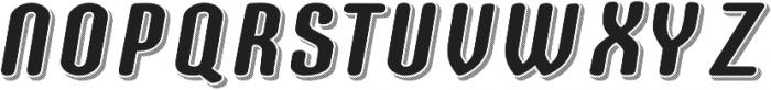 Speedball Shadow otf (400) Font UPPERCASE