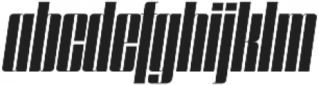 Speedometer 500I otf (500) Font LOWERCASE