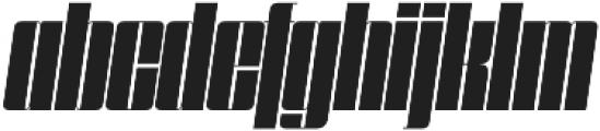 Speedometer 600I otf (600) Font LOWERCASE