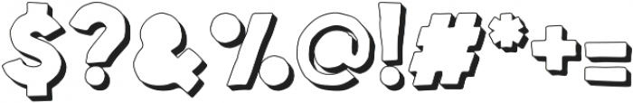 Spellbound Blind Extrudes otf (400) Font OTHER CHARS