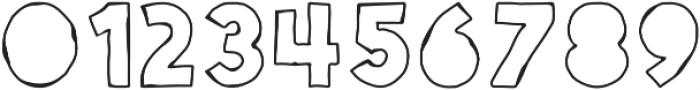 Spellbound Blind Outline otf (400) Font OTHER CHARS