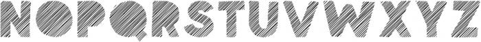 Spellbound Blind Stripes otf (400) Font LOWERCASE