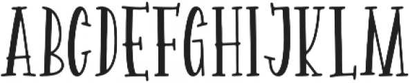 Spellbound Solid otf (400) Font UPPERCASE