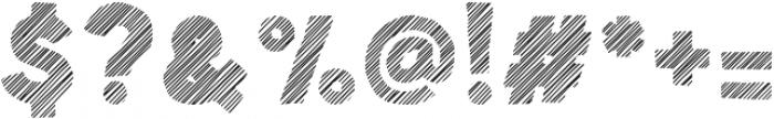 Spellbound Stripes otf (400) Font OTHER CHARS