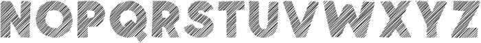Spellbound Stripes otf (400) Font LOWERCASE