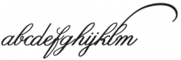 SpencerianPalmerPenmanship PRO otf (400) Font LOWERCASE