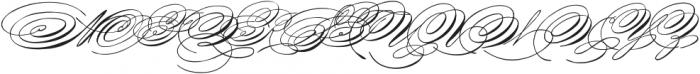 SpencerianPalmerPenmanship ttf (400) Font UPPERCASE